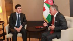 Kurdistan's President arrives in Amman
