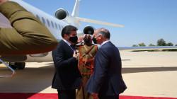 نيجيرفان بارزاني يصل الأردن
