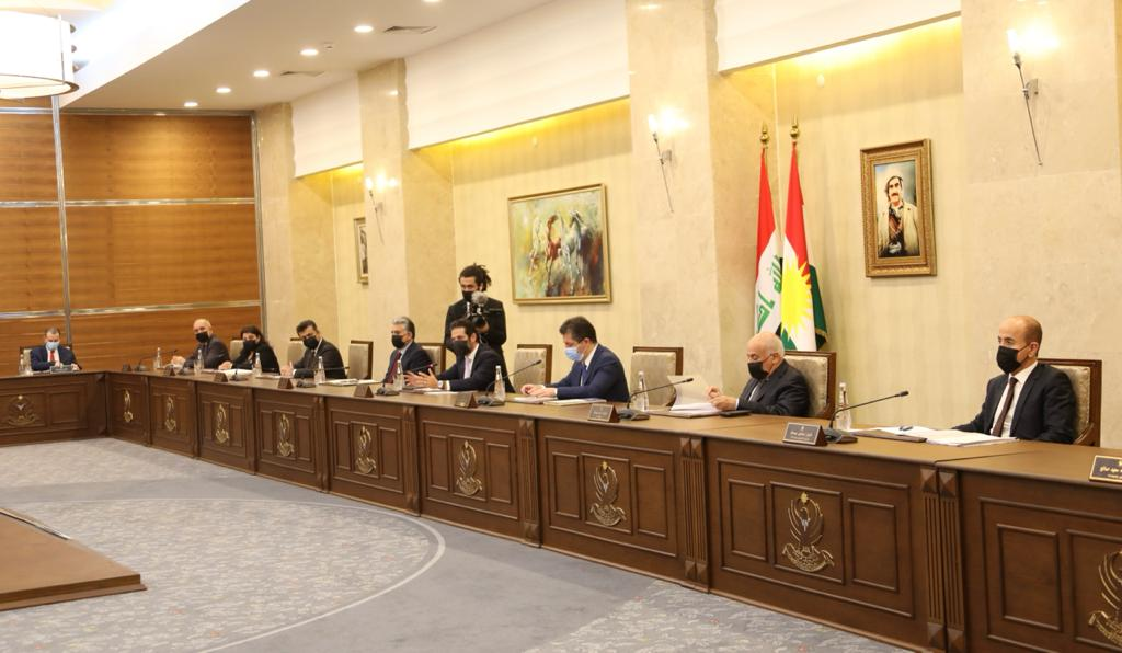 KRG instructs holding an extensive meeting to prepare the budget draft and refer it to Parliament