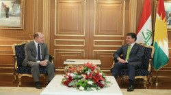 President Barzani discusses with the US special envoy for the Global Coalition several files