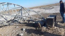 تفجير برجين لنقل الطاقة الكهربائية جنوب شرق الموصل