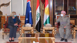 Masoud Barzani meets the Australia's ambassador to Iraq