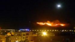 """شرطة السليمانية تعتقل شخصاً افتعل حريقاً في جبل """"گويژه"""""""