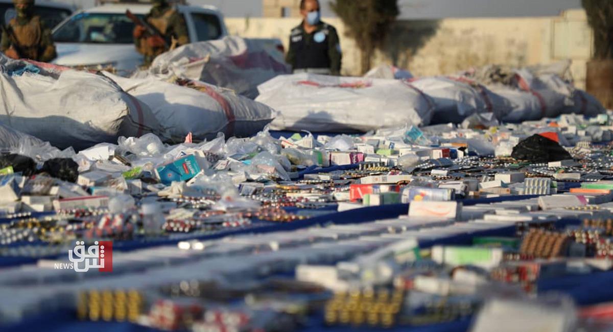 اعتقال ضابط مرور عراقي بتهمة نقل مواد مخدرة