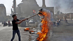 جرحى بإطلاق نار على محتجين أمام منزل نائب لبناني