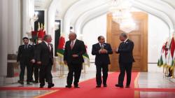 """صالح يؤشر خلال مأدبة غداء مع السيسي وملك الاردن """"نقطة تحول في المنطقة"""""""