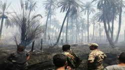 Fire destroys more than six dunums of orchards south of Baquba