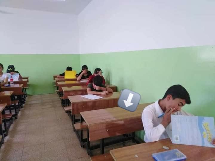 الموصل.. الحزن يخيّم على إحدى قاعات الإمتحانات بسبب مقتل تلميذ بعبوة ناسفة