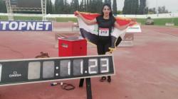 مطالبات بدعم خاص للعداءة دانة حسين لتحقيق حلم عراقي مفقود