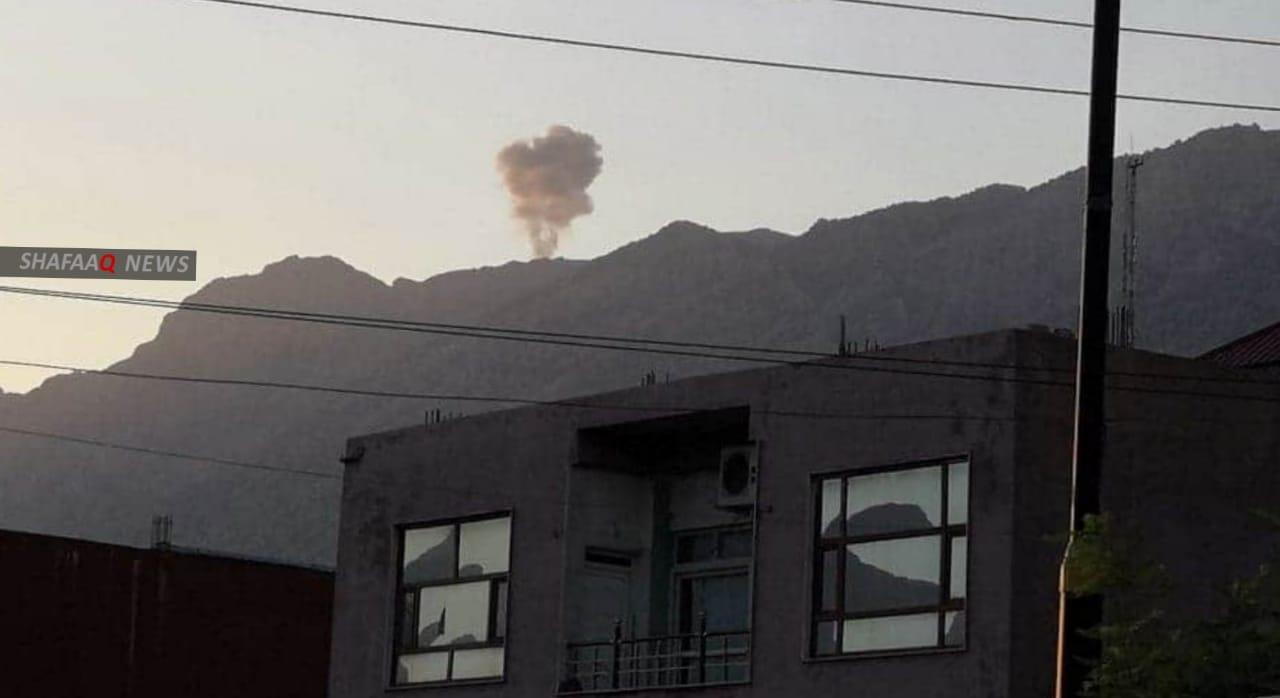 Turkish artillery target villages north of Duhok