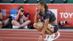 أمريكية تحطم الرقم القياسي العالمي لسباق 400 متر حواجز