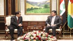 Kurdistan's President hosts the Philippines' ambassador to Iraq