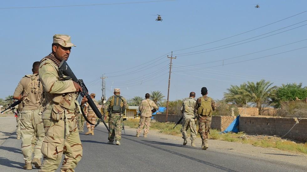 Security forces arrest five terrorists in Al-Anbar