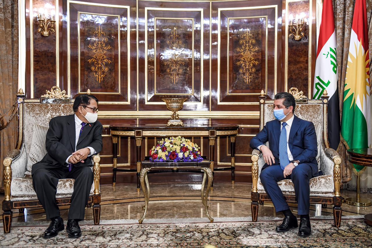 الفلبين: نرغب في الاستفادة من تجربة كوردستان في مكافحة التطرف