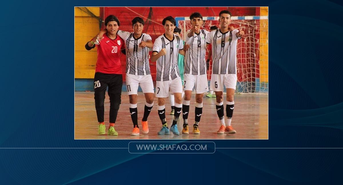 نفط الوسط يتوج بلقب دوري كرة الصالات للشباب