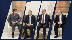 President Barzani meets with leaders of Kurdish Parties
