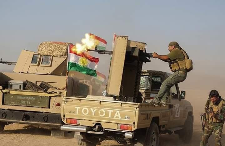 """""""بفضل التنسيق"""".. البيشمركة تعلن انخفاضاً كبيراً للعمليات الارهابية في حدود خانقين وكوردستان"""