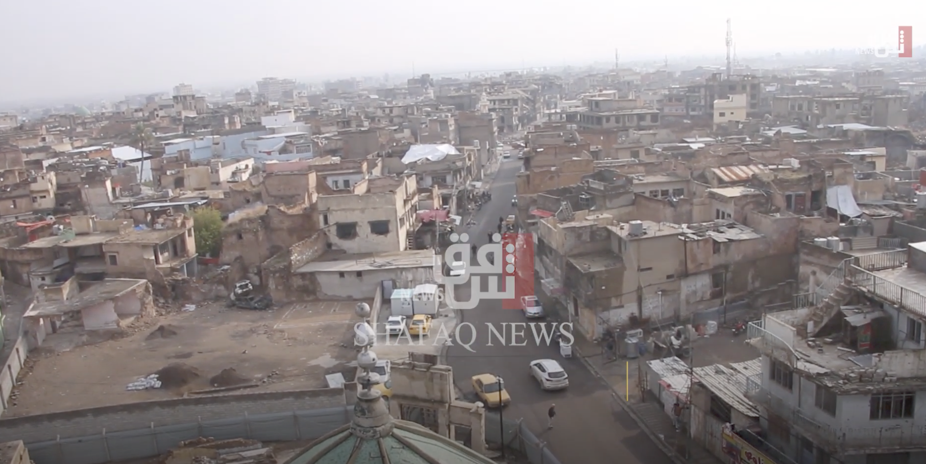 """فيديو.. مدينة الثقافة والحضارة العراقية تعود للعصور المظلمة عبر """"مشعوذين"""""""