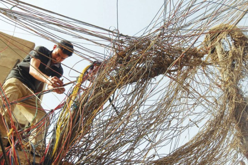 Iraq..a defect in the energy system permanently impedes the supply of electricity