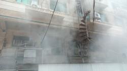 كربلاء.. إنقاذ 200 شخص من حريق اندلع في فندق