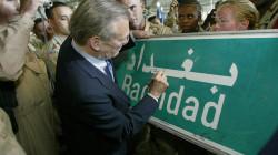 """بروفايل.. دونالد رامسفيلد """"العراب العراقي"""""""