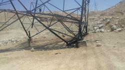 سقوط ثلاثة أبراج للطاقة بتفجير جديد جنوب الموصل