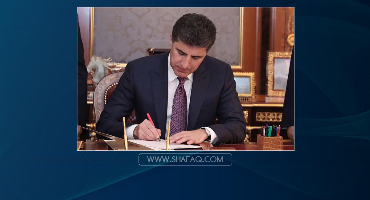رئيس اقليم كوردستان يعزي الجيش العراقي بحادثة تحطم مروحية عسكرية