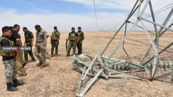 العراق يطلق عملية عسكرية لحماية أبراج الكهرباء