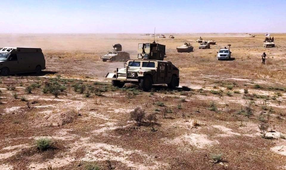 Families displaced from north of Diyala due to security-related risks