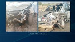 مصرع وإصابة 5 أشخاص بحادث على طريق الديوانية - بغداد