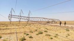 """Three power transmission towers """"sabotaged"""" in Kirkuk"""