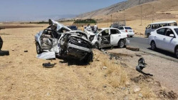 مصرع وإصابة ستة أشخاص بحادث في أربيل وفتاة تنتحر حرقا بكركوك