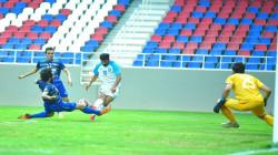 النجف يفوز على امانة بغداد بدوري الكرة الممتاز