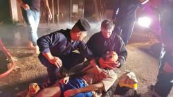 استنفار لإنقاذ عائلات علقت بين نيران محطة ماء في الكاظمية