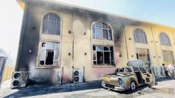 ثلاث إصابات بليغة وأضرار جسيمة باندلاع حريق في جامع بأربيل