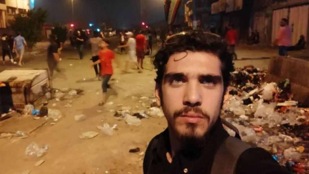 اختفاء ناشط عراقي وسط بغداد في ظروف غامضة