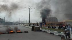 محتجون والأمن يتبادلون التراشق بالحجارة بالناصرية وكربلائيون يطالبون بأراضٍ سلبها صدام منهم