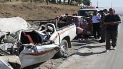 مصرع وإصابة خمسة أشخاص بحادث سير على طريق السليمانية - كركوك