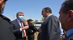 وزير النفط العراقي يصل إلى كركوك