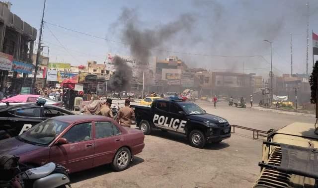 إصابات في صفوف المتظاهرين وعناصر الامن في الناصرية