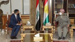 The U.S. new Consul General visits Masoud Barzani