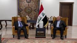 """صالح والعبادي يرفضان الأعمال """"المزعزعة"""" للاستقرار ويبحثان عدة ملفات"""