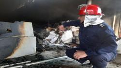 """اندلاع حريق """"كبير"""" جنوب بغداد.. صور + فيديو"""