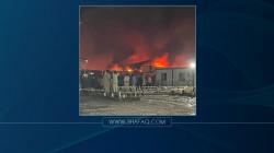 الانفجارات تتوالى داخل مستشفى الحسين والدفاع المدني يكافح لاطفاء الحريق