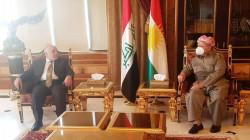 Barzani and al-Abadi discuss preparing for the Iraqi legislative elections
