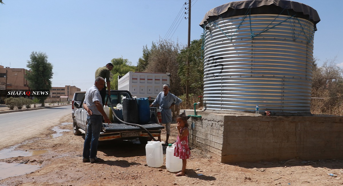 Russia and Turkey engage in talks to restore water supply to a million citizens in AANES