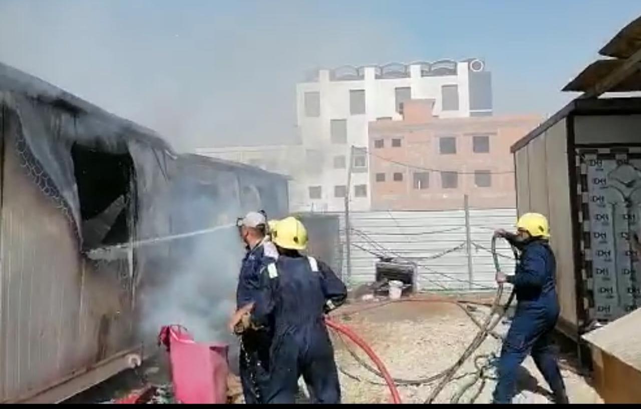 اندلاع حريق قرب مستشفى في الانبار