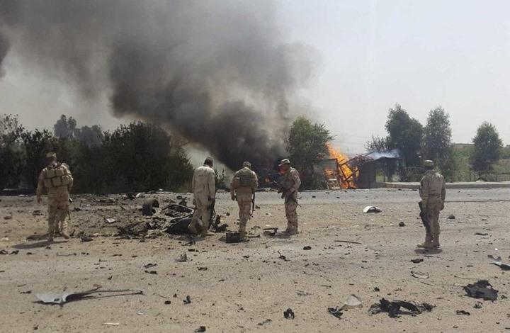 ديالى.. انفجار عبوة بسيارة مسؤول محلي ومقتل اثنين من داعش