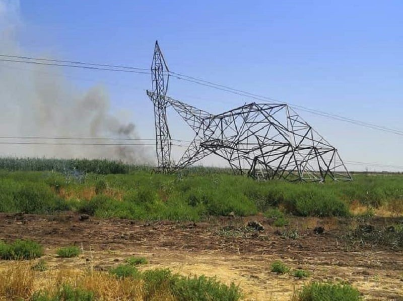 The Iraqi parliament accuses foreign countries of targeting energy towers - their aim is to sabotage the economy