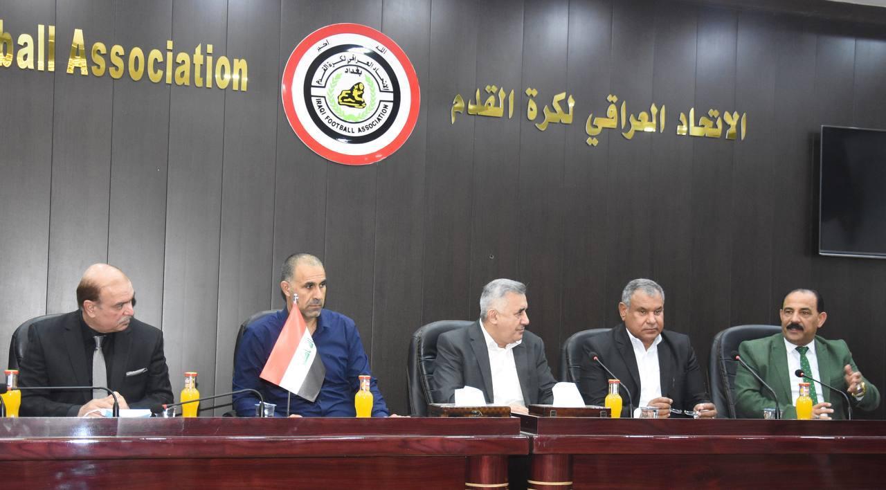 التطبيعية تتعهد بحسم تسمية مدرب المنتخب العراقي قبل العيد